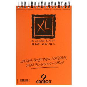 Canson 120 Feuilles Album croquis XL 90 g (30 x 30 cm)