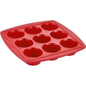 Tefal J4094714 - Moule rétractable en silicone pour 9 muffins
