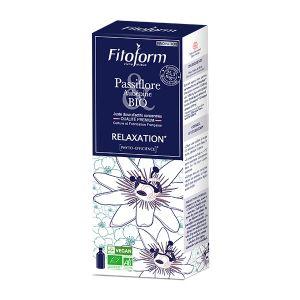 Fitoform Relaxation Passiflore aubépine Bio Vegan