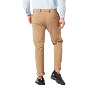 DOCKERS Pantalon chino Alpha Khaki Smart 360 Flex tapered Beige