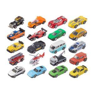 LGRI Coffret de 20 voitures en métal