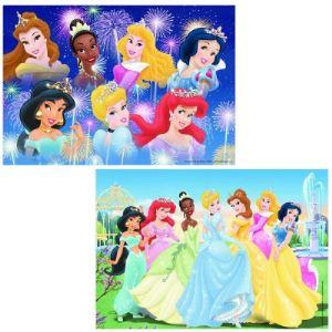 Ravensburger Coffret puzzles Disney Princess: Les Princesses Réunies 2 x 24 pièces