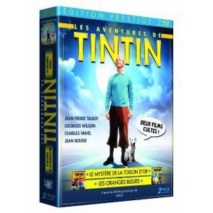 Coffret Tintin et les oranges bleues + Tintin et le mystère de la toison d'or