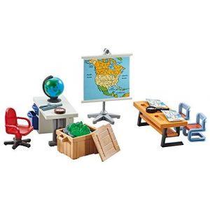 Playmobil 9810 - La Salle De Classe D'Histoire et Géographie - Emballage Plastique, Pas de boîte