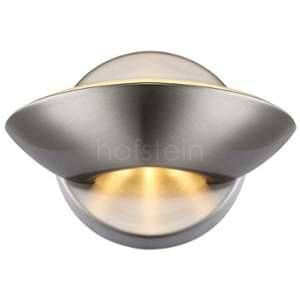 Globo Lighting Applique lampe murale éclairage LED 7,5Watts nickel lumière luminaire Sammy 76001