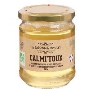 La Baronnie des Lys Calmi'toux alliance miel bio d'acacia et huiles essentielles d'eucalyptus
