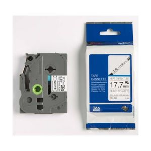 Brother Gaine thermo-retractable (pour PT-H300, PT-H500, PT-E300VP), 18mm de large HSE-241