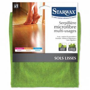 Starwax Serpillière microfibre multi-usages 50 x 60 cm