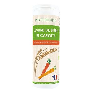 Phytoceutic Levure de Bière et Carotte 180 comprimés