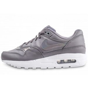 Nike Enfant Air Max 1 Grise Et Blanche Junior Baskets
