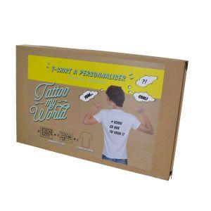 Kit Boy : T-Shirt blanc à personnaliser 8/10 ans