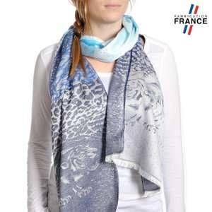 Qualicoq Echarpe légère Aramon Bleu