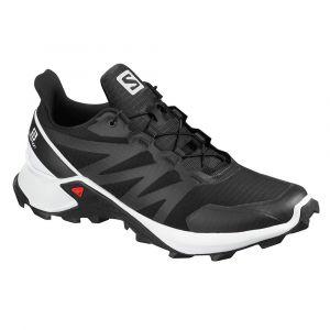 Salomon Chaussures Supercross - Black / White / Black - Taille EU 43 1/3
