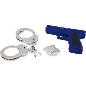 Yoopy Set de police pistolet et accessoires