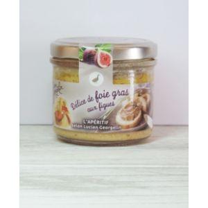 Lucien georgelin Tartinade de foie gras de canard aux figues