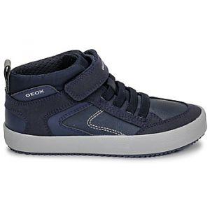 Geox Baskets montantes enfant J ALONISSO BOY bleu - Taille 28,31,32,33,34,35