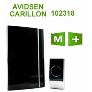 Avidsen 102318 - Carillon sans fil portée 100 m