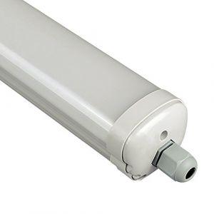 V-TAC Etanche LED 120cm 36W Ip65 Vt-1249 - Blanc Neutre - 4500k - 120 Deg