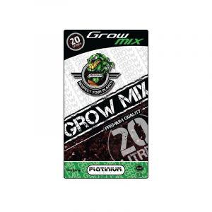 Platinium Terreau Grow-Mix Avec Perlite Sac De 20L, Croissance Et Floraison, Enrichi 4 Semaines