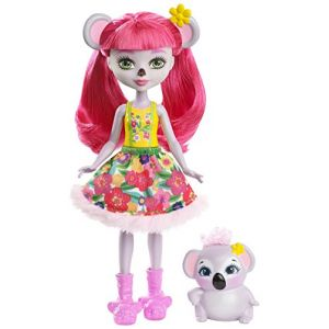 Mattel Poupée Enchantimals Karina Koala