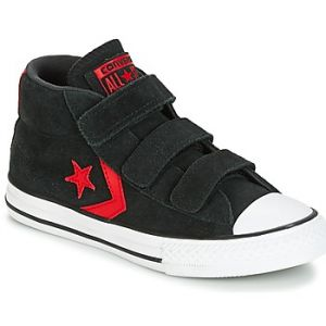 Converse Chaussures enfant STAR PLAYER EV V STAR PLAYER SUEDE MID BLACK/STORM WIND/CASINO