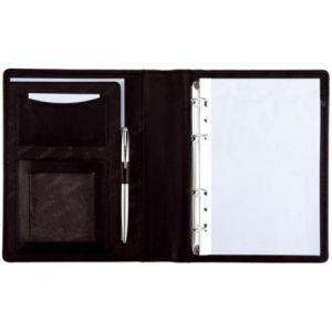 Alassio 30003 - Porte documents à anneaux Benaco, format A5, noir