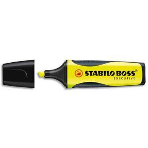 Stabilo 10 surligneurs Boss Executive pointe biseautée