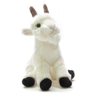 Anima Peluche Chèvre blanche 26 cm