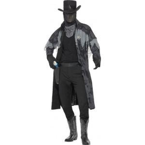 Déguisement fantôme sheriff Halloween (taille M)