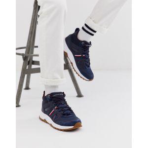 Tommy Hilfiger Fashion Modern Sneaker High, Baskets Hautes Homme, Bleu (Midnight Cki), 45 EU
