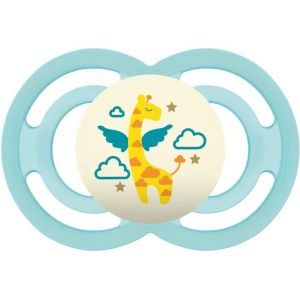Mam Baby Soother Silicone Perfect Night +16 M Vert