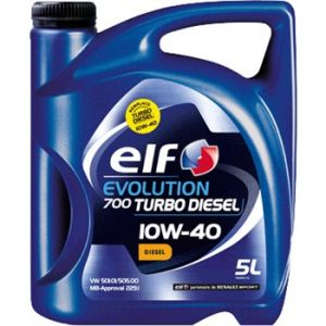Elf Huile moteur Evolution 700 Turbo 10W40 Diesel 5 L