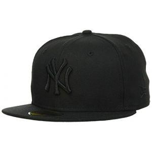 A New Era 59FIFTY Black Black NY Yankees casquette baseball