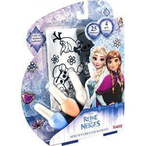 Lansay Mini Set Créa ' Stickers Gel La Reine Des Neiges