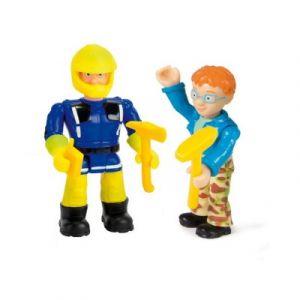 Smoby Figurine Sam le Pompier Sam pompier et Nicolas