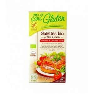 Ma vie sans gluten Galettes tomates lentilles corail
