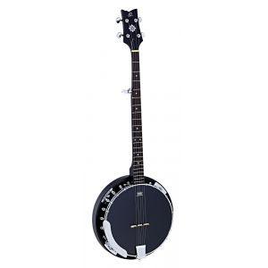 Ortega Banjo 5 Obj250 Black + Housse