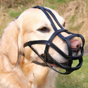 Trixie Muselière en cuir pour grands chiens taille L