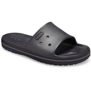 Crocs Crocband III - Sandales - gris/noir 45-46 Sandales Loisir