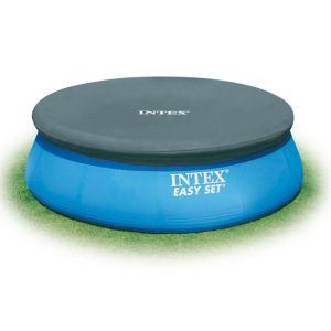 Intex 28020 - Bâche pour piscine ronde autoportante Ø 2,44 m