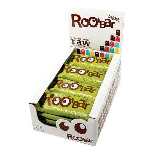 Roo'bar Raw Energy Bar Hemp Protein And Chia 50 G X 16