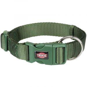 Trixie Premium collier - L-XL: 40-65 cm/25 mm, vert forêt