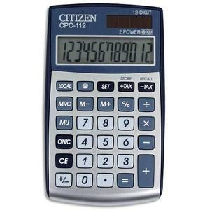 Citizen Systems CPC-112 - Calculatrice de poche Premium