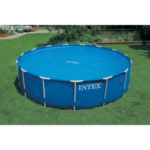 Intex Bâche à bulles pour piscine ronde tubulaire - Diam. 488 cm