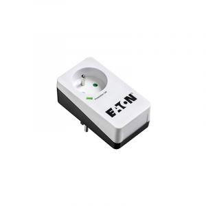 Eaton MULTIPRISE/PARAFOUDRE PROTECTION BOX 1 FR - PB1F - 1 PRISE FR - BLANC & NOIR