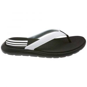 Adidas Comfort Flip Flop, Chaussure de Piste d'athlétisme Femme, Noir Noir/Blanc FTWR/Noir Noir, 38 EU