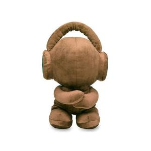 WE DJ Teddy - Enceinte Nounours nomade Jack 3.5mm avec dock (MP3,MP4,Smartphone,iPod/iPhone)