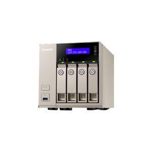 Qnap TVS-463 - Serveur NAS 4 baies Gigabit Ethernet x2