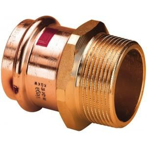Viega 105044 - Réduction femelle male bronze 15x1/2