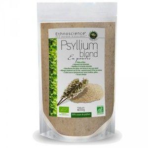 Ecoidées Psyllium Blond en Poudre Bio 600g